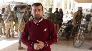 شاهد : تقدم الانغماسيين و السيارات المفخخة على مواقع ميلشيات الأسد في حلب الجديدة و3000 شقة