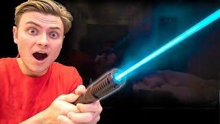 I FOUND A REAL STAR WARS LIGHTSABER!!