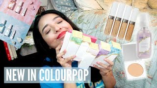 NEW IN COLOURPOP! Chatty Thoughts & Mini Reviews ♡ Cherie Jo