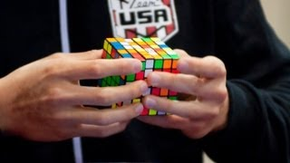 6x6 Rubik's Cube World Record - 1:40.86