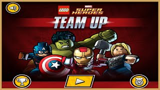 Lego Super Heroes Team Up | Best Kid Games | Hulk Iron Man Thor Fighting Game