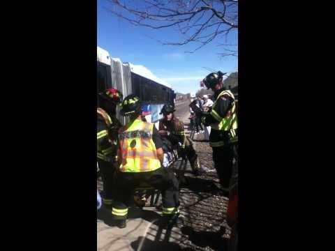 Guy faking an injury on RTD bus.