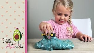 How to Make Magnetic Slime! Easy DIY magnetic goo you can add glitter to!