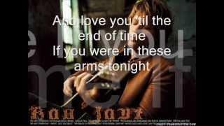 Bon Jovi - In these Arms (with lyrics)