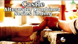 "Castle 8x22 Alternate Ending / End Series Finale  ""Crossfire""  (HD) Happy Caskett"