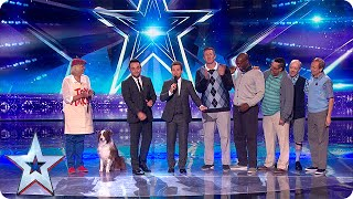 Jules and Matisse and Old Men Grooving are in the final | Semi-Final 2 | Britain's Got Talent 2015