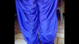 khajoori (khajuri) salwar cutting and stitching  full video