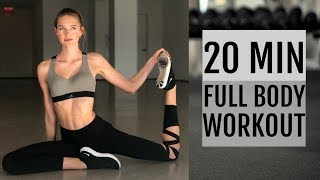 20 Minute Full Body Workout | What I Did To Get Ready For The Victoria's Secret Show