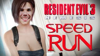 RESIDENT EVIL 3 - SPEEDRUN DA NOSTALGIA! | PB: 1:04:44