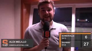 Somerville vs Rahway 10/6/17