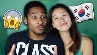 Black Guy Meets Korean Girlfriend's Parents For The First Time! Story Time!