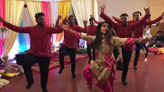 Musfara Dholki Cousins Dance