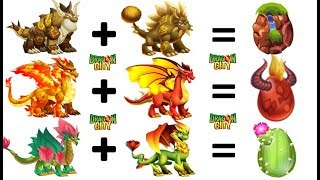 How To Breed All DOUBLE ELEMENT Dragons 3 Months Ago By Dragon City