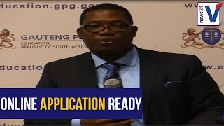 WATCH: Lesufi says online system is good to go