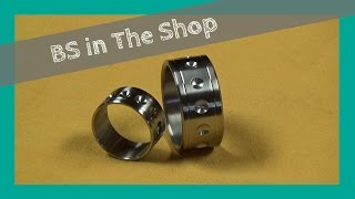 Making a Titanium Wedding Ring