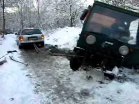 Audi A6 vs. Multicar