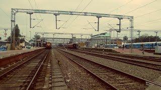 Entering the mighty Ernakulam Junction after skipping Ernakulam Town - Full Uncut Video