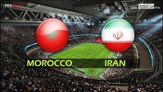 PES 2018 | MOROCCO vs IRAN | Full Match & Amazing Goals | Gameplay PC