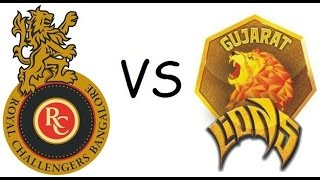 Ipl 2017 Royal Challengers Bangalore Vs Gujarat Lions Full Match Highlights (DBC17)