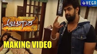 Aatagara Movie Making || Latest Kannada Movie 2015