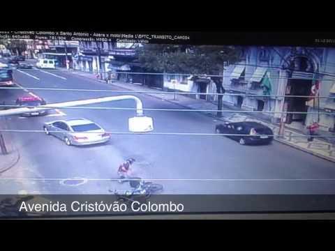 Exclusivo confira em vídeo 10 flagrantes de acidentes ocorridos em Porto Alegre em 2012