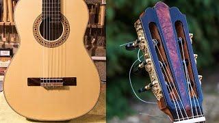 Classical Spanish Guitar Construction