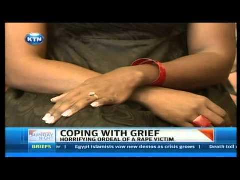 Horrifying ordeal of a rape victim