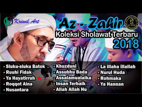 Koleksi Sholawat Az Zahir Terbaru 2018