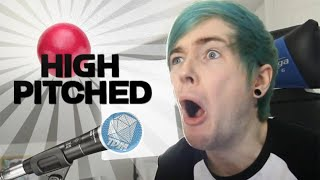 DanTDM Sings his intro [The Red one has been chosen] [High Pitched]