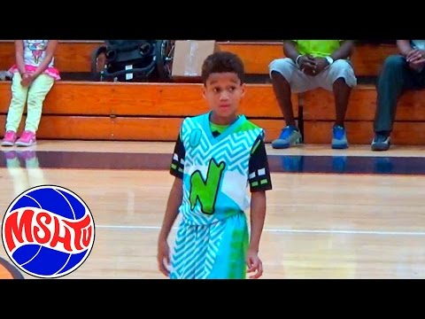 4th Grader Christian Jones is THE FUTURE - Nightrydas Elite Class of 2024 Basketball