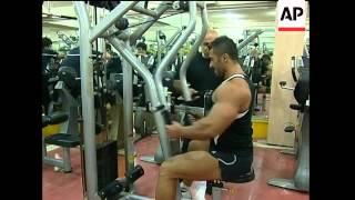Bodybuilding becomes popular in Iran