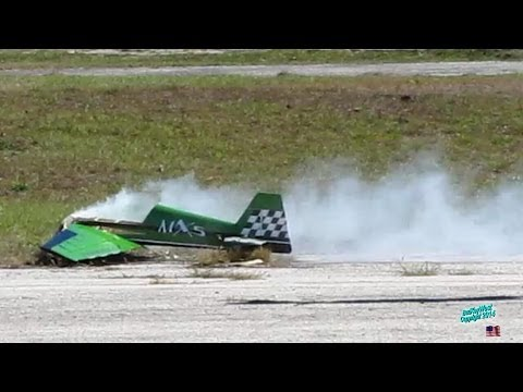 RC Extreme Flight MXS Crash and Burn Aftermath