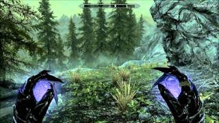 Skyrim High Level Mage Gameplay - Boethiah's Calling