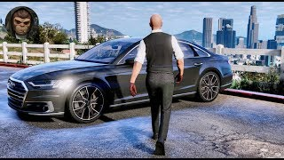 ► GTA 6 Graphics - Audi A8 2018 ✪ M.V.G.A. - Gameplay! Realistic Graphics MOD PC 60FPS