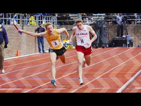 Drew Hunter The Greatest Comeback In H.S. History Anchors Penn Relays DMR