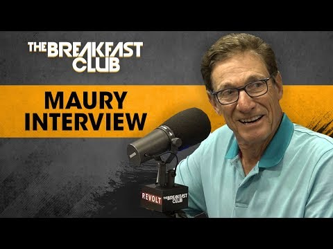 Maury Talks Accuracy Of Lie Detector Past Relationship w Donald Trump More