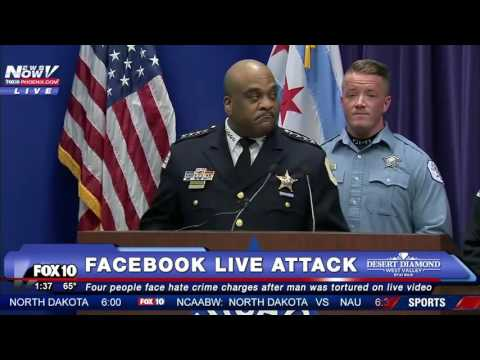 SHOCKING 4 People Charged with HATE CRIME After ATTACK of Mentally Challenged Man on Facebook LIVE