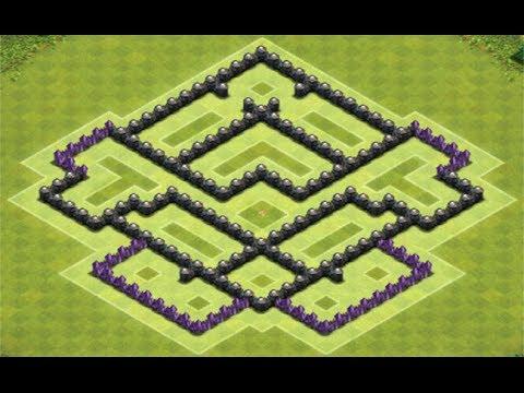 clash of clans melhor layout de farm para centro de vila 7 best