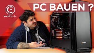Kann WIRKLICH JEDER einen GAMING PC bauen? 2000 Euro SILENT PC im Selbstbau