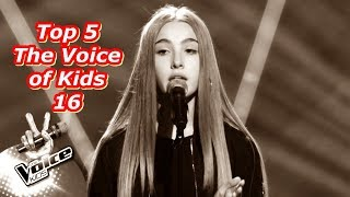 Top 5 - The Voice of Kids 16
