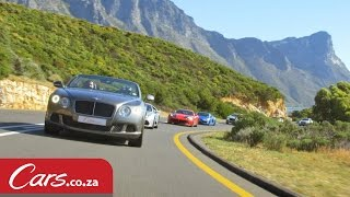 Cape Town's Biggest Ever Supercar Run - We Were There