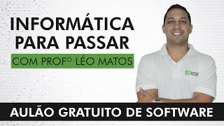 Aulão Gratuito de Software - Professor Léo Matos