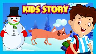 Kids Story - The Boy Who Cried Wolf, The Fox Without A Tail and Harry The Snowman