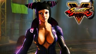 Street Fighter 5 - Juri (Uncensored) Mod Gameplay @ 1080p (60fps) HD ✔