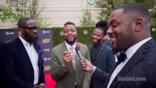Howard Gospel Choir - 2017 Stellar Awards Red Carpet with UGospel.com