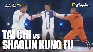 Tai Chi vs Kung Fu Shaolin