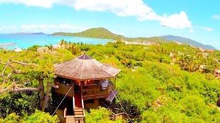 Sponsor Video!  The Rock Cafe & Treehouse Restaurant on Virgin Gorda, BVI, CARIBBEAN!