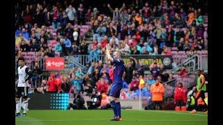 ملخص مباراة برشلونة 5 - 0 اشبيلية - نهائى كأس الملك -  جودة عالية