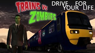 Drive For Your Life! | Halloween 2017 - Trains Vs Zombies Part I