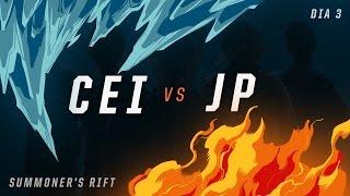 CEI x JP (Dia 3 - Todos por Um) - IWCA 2016